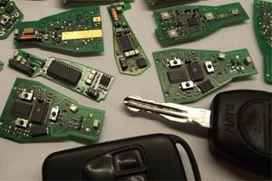 Reparar Electronica de la Llave del Coche